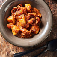 Picture of Moscardini affogati  alla ligure con patate